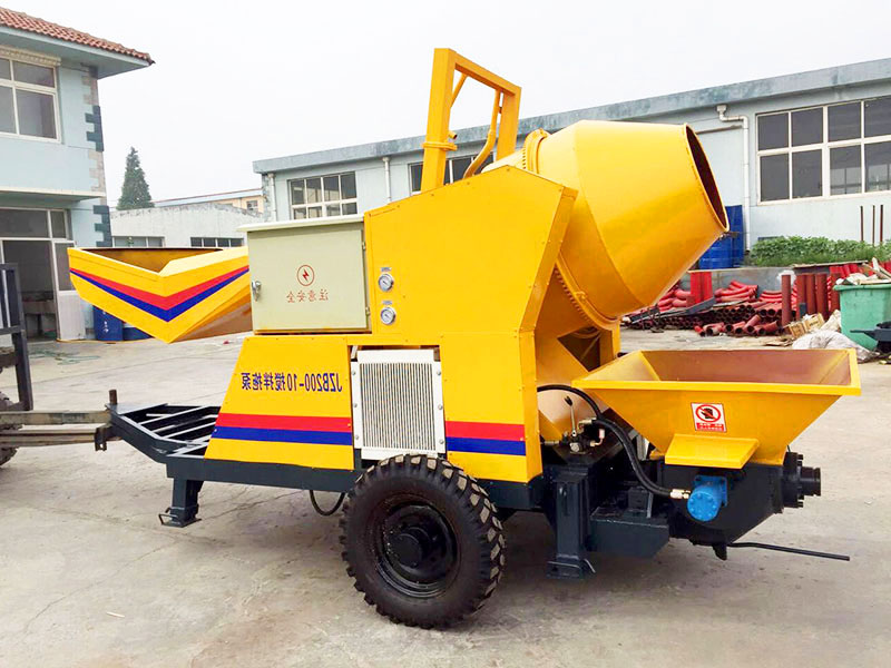 electric concrete and pump