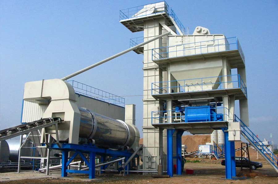 asphalt drum mix plants