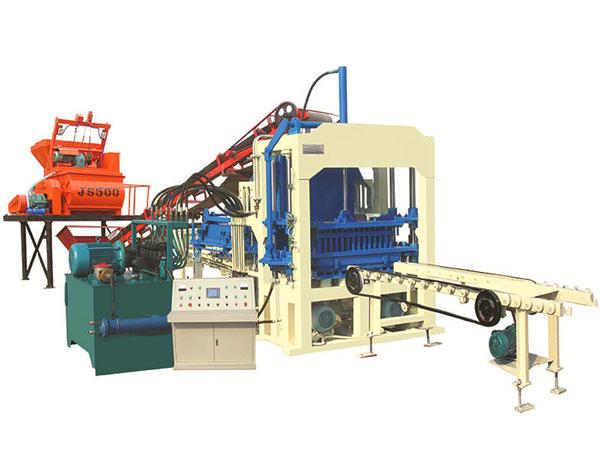 QT3-15 automatic concrete block making machine